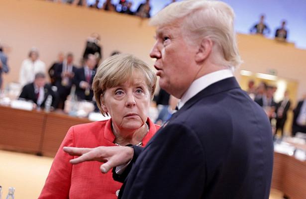 СМИрассказало о«горячем споре» Трампа иМеркель о«Северном потоке— 2»