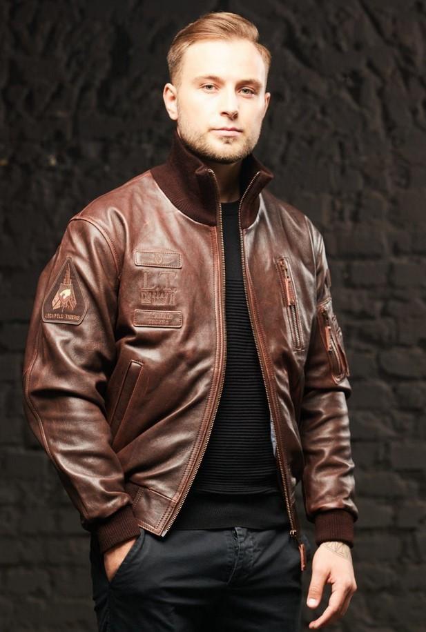 Стильная мужская кожаная куртка от «Бизон Стор» и как ее выбрать