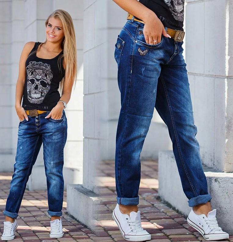 Как выбрать женские джинсы бойфренды
